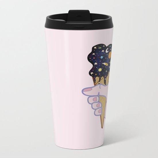 Universe flavour Metal Travel Mug