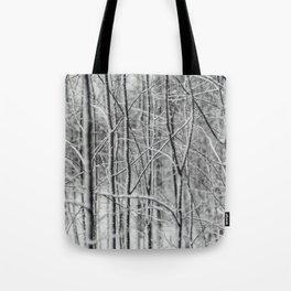 Winter gris Tote Bag