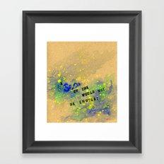Tracey's Valentine Framed Art Print