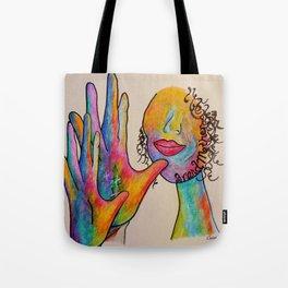 American Sign Language Grandmother Tote Bag