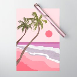 Tropical Landscape 01 Wrapping Paper