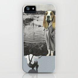 Tête de chien iPhone Case