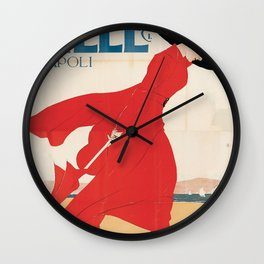 Vintage poster - Mele Estate Wall Clock