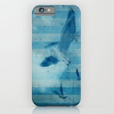 seagull in cyan Slim Case iPhone 6s