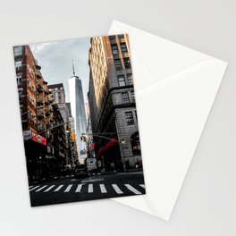 Lower Manhattan One WTC Stationery Cards