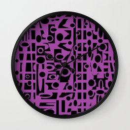 Shame of Darkness Wall Clock