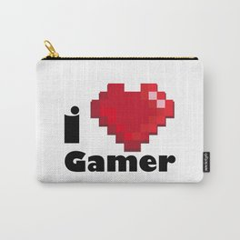 I LOVE GAMER Carry-All Pouch