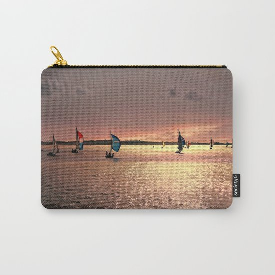 Sunset Sail In Bermuda Carry-All Pouch
