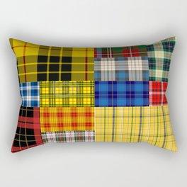 Crazy Plaid Rectangular Pillow