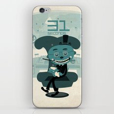 I've been waiting for you, Mr. Bond iPhone & iPod Skin
