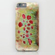 poppy island iPhone 6s Slim Case