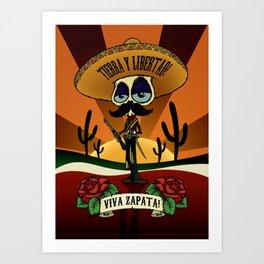 Viva Zapata! Art Print
