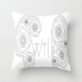 W I L D  Throw Pillow
