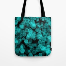 Night Lights Green Tote Bag
