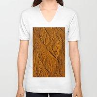 mars V-neck T-shirts featuring Mars by Ian Bevington
