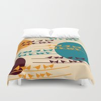 birdy Duvet Covers featuring birdy by BruxaMagica