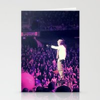 concert Stationery Cards featuring Concert Photo by M. W.