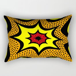 Comic Book Abstract Rectangular Pillow
