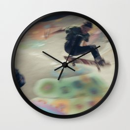 SkateArt Wall Clock