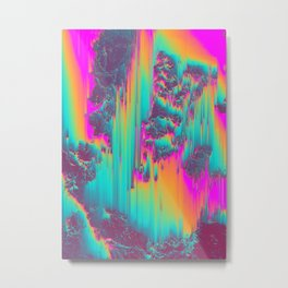 THERE'S NO LIE IN HER FIRE Metal Print