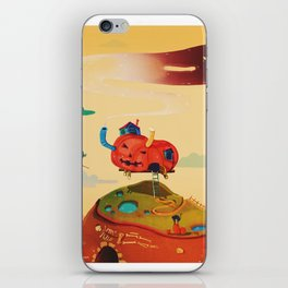Pumpkin House iPhone Skin