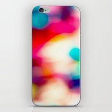 BLUR / big city lights iPhone Skin