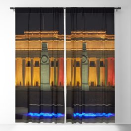 Auckland Museum at Night Blackout Curtain