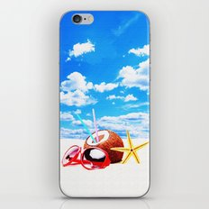 SUMMERTIME iPhone & iPod Skin