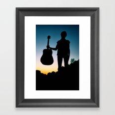 Music is my Soul Framed Art Print