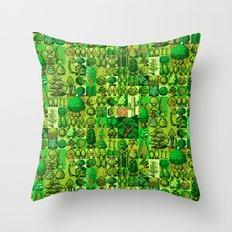 Digital Woodland Camo Throw Pillow