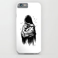 Time (Black and White) Slim Case iPhone 6s