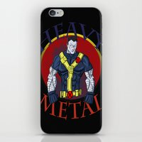 heavy metal iPhone & iPod Skins featuring Heavy Metal by Iron King