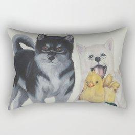 Umbra and Pryna Rectangular Pillow