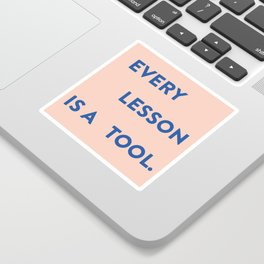 Every lesson Sticker