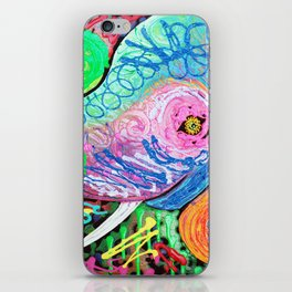 Painted Pachyderm iPhone Skin