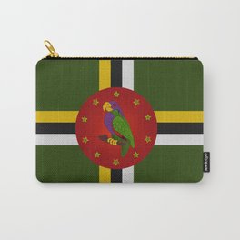 Dominica Flag Carry-All Pouch