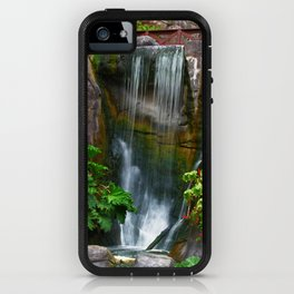 Waterfall in Golden Gate Park iPhone Case