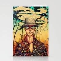 fear and loathing Stationery Cards featuring Fear and Loathing  by Mony