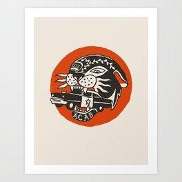 Abolition Panther Art Print