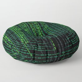 Matrix (1) Floor Pillow
