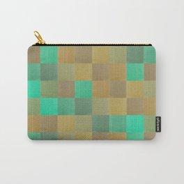 Zig-zag edged felt patchwork II Carry-All Pouch