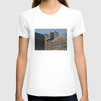 buildings T-shirts featuring NYC Buildings by johntrif