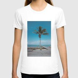 Scuba School Belize Palm T-shirt