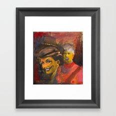 Subdural Framed Art Print