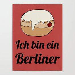 Ich bin ein Berliner Poster