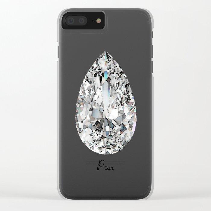 Pear Clear iPhone Case