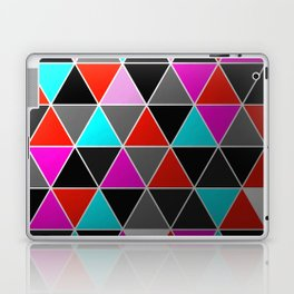 Industrial Triangles Laptop & iPad Skin