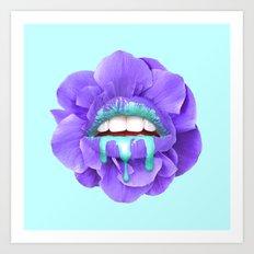 VIOLET KISS Art Print