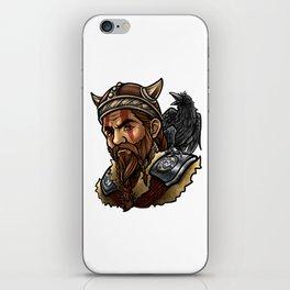 Viking | Warrior Raven Odin Walhalla Valknut Loki iPhone Skin