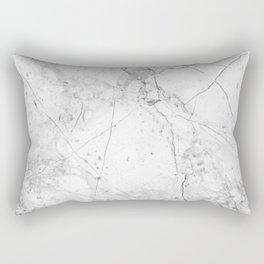 Nordic White Marble Rectangular Pillow